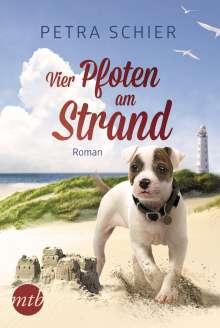 Petra Schier: Vier Pfoten am Strand, Buch