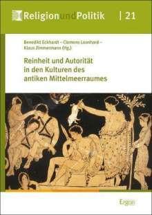 Reinheit und Autorität in den Kulturen des antiken Mittelmeerraumes, Buch