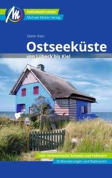 Dieter Katz: Ostseeküste von Lübeck bis Kiel Reiseführer Michael Müller Verlag, Buch