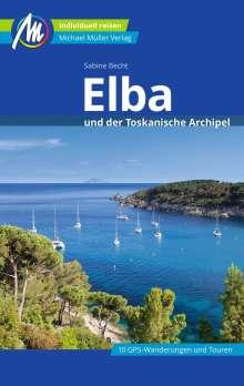 Sabine Becht: Elba Reiseführer Michael Müller Verlag, Buch