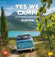 Christian Haas: Yes we camp! Europa, Buch