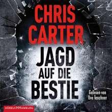 Chris Carter: Jagd auf die Bestie (Ein Hunter-und-Garcia-Thriller 10), 2 CDs