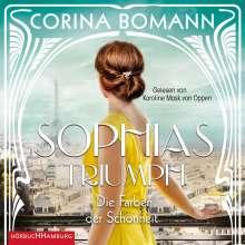Corina Bomann: Die Farben der Schönheit - Sophias Triumph (Sophia 3), 2 CDs