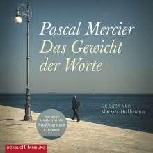 Pascal Mercier: Das Gewicht Der Worte, 3 MP3-CDs