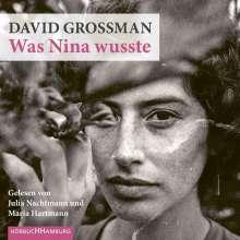 David Grossman: Was Nina wusste, 9 CDs