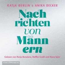 Anika Decker: Nachrichten von Männern, 3 CDs