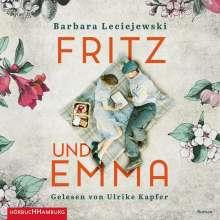 Barbara Leciejewski: Fritz und Emma, 2 MP3-CDs