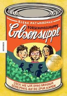 Rieke Patwardhan: Forschungsgruppe Erbsensuppe, Buch