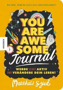 Matthew Syed: You are awesome - Journal, Buch