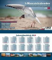 3-Monatskalender Mecklenburg-Vorpommern 2020, Diverse