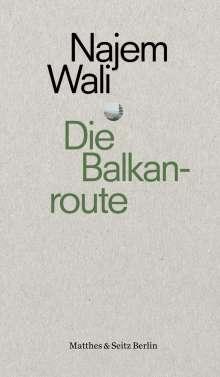 Najem Wali: Die Balkanroute, Buch