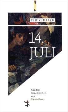 Éric Vuillard: 14. Juli, Buch