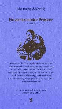 Jules Barbey D`Aurevilly: Ein verheirateter Priester, Buch