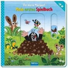 """Mein erstes Spielbuch """"Der kleine Maulwurf"""" ab 18 Monate, Buch"""