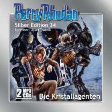 William Voltz: Perry Rhodan Silber Edition 34 - Die Kristallagenten, 2 Diverse
