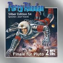 Clark Darlton: Perry Rhodan Silber Edition (MP3-CDs) 54: Finale für Pluto, MP3-CD