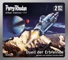 H. G Ewers: Perry Rhodan Silber Edition 117: Duell der Erbfeinde (2 MP3-CDs), MP3-CD