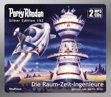 Arndt Ellmer: Perry Rhodan Silber Edition (MP3 CDs) 152: Die Raum-Zeit-Ingenieure, MP3-CD