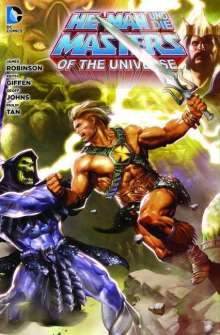 James Robinson: He-Man und die Masters of the Universe 01, Buch