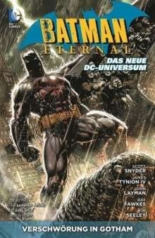 Scott Snyder: Batman Eternal 01: Verschwörung in Gotham, Buch