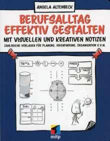 Angela Altenbeck: Berufsalltag effektiv gestalten mit visuellen und kreativen Notizen, Buch