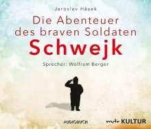 Jaroslav Hasek: Die Abenteuer des braven Soldaten Schwejk, 8 CDs
