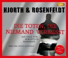 Michael Hjorth: Die Toten, die niemand vermißt, MP3-CD