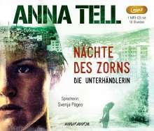 Anna Tell: Nächte des Zorns, MP3-CD