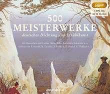 500 Meisterwerke deutscher Dichtung und Erzählkunst, 3 MP3-CDs