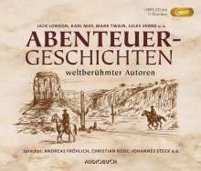 Abenteuergeschichten weltberühmter Autoren (Sonderausgabe), MP3-CD