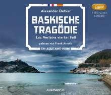 Alexander Oetker: Baskische Tragödie, MP3-CD