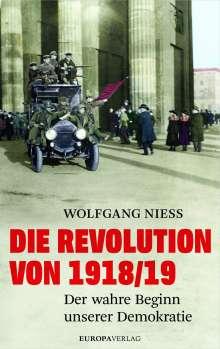 Wolfgang Niess: Die Revolution von 1918/19, Buch