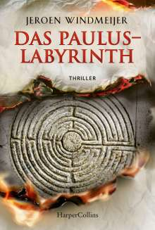 Jeroen Windmeijer: Das Paulus-Labyrinth, Buch