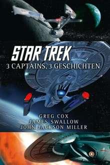 Greg Cox: Star Trek - 3 Captains, 3 Geschichten, Buch