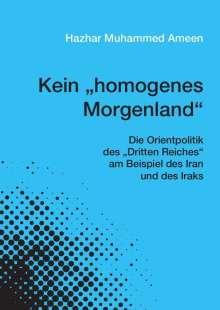 """Hazhar Muhammed Ameen: Kein """"homogenes Morgenland"""", Buch"""