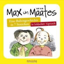 Ludwig Kroner: Max un Määtes, Buch