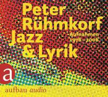 Peter Rühmkorf: Jazz & Lyrik, 3 CDs