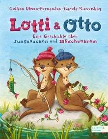 Collien Ulmen-Fernandes: Lotti und Otto, Buch