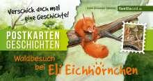 Leon Alexander Schmidt: Waldbesuch bei Eli Eichhörnchen, Buch