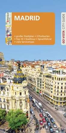 Karoline Gimpl: GO VISTA: Reiseführer Madrid, Buch