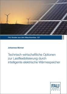 Johannes Bürner: Technisch-wirtschaftliche Optionen zur Lastflexibilisierung durch intelligente elektrische Wärmespeicher, Buch