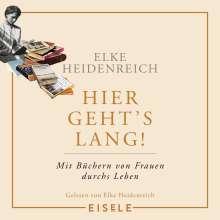 Elke Heidenreich: Hier geht's lang!, 4 CDs