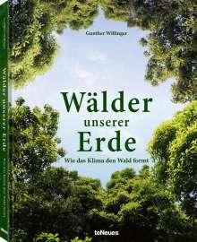 Gunther Willinger: Wälder unserer Erde, Buch