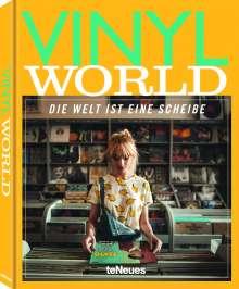 Thomas Hauffe: Vinyl World(Deutsche Ausgabe), Buch