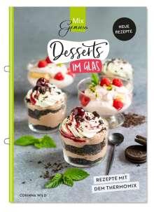Wild Corinna: Desserts im Glas, Buch