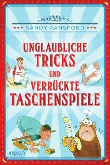 Sandy Ransford: Unglaubliche Tricks und verrückte Taschenspiele, Buch