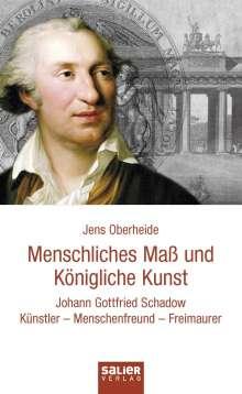 Jens Oberheide: Menschliches Maß und Königliche Kunst, Buch