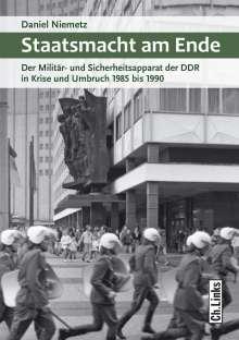 Daniel Niemetz: Staatsmacht am Ende, Buch