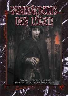 Alan Alexander: Vampire: Das Dunkle Zeitalter - Vermächtnis der Lügen, Buch