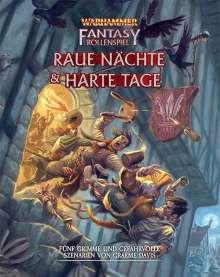 Graeme Davis: Warhammer Fantasy-Rollenspiel Raue Nächte & Harte Tage, Buch